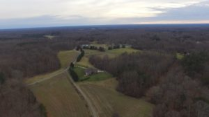 425 Acres with Gorgeous Brick Home